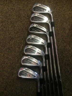 Titleist 716 4 To PW Fitted With Dynamic Gold AMT Stiff Flex New