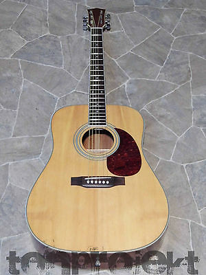 BALTIMORE 6string dreadnought Gitarre guitar Westerngitarre Decke massiv