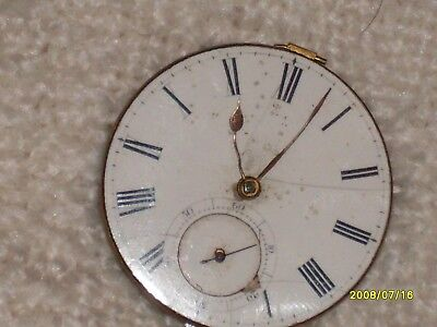 pocket watch works only for parts