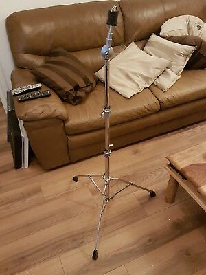 Premier vintage 1980s Single Braced straight stand for drum kit