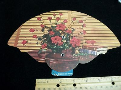 VINTAGE cardboard Advertising FANS Keystone Tourist Court  Chambersburg Pennsylv