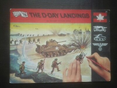 Patterson Blick Rub On Transfer Book The D Day Landings 1970