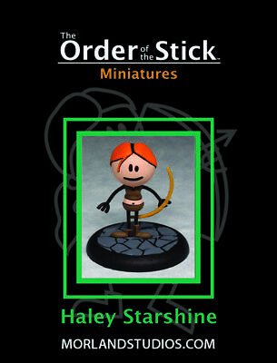 Fantasy Miniatures -Order of the Stick - Haley Starshine - Rich Burlew -NIB