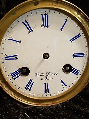 Antique French Clock Movement Henry Marc Paris