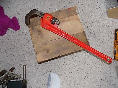 Ridgid No 25 Hex Pipe Wrench Great Condition Plumbing Tool