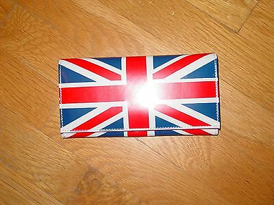 "British Flag Union Jack Hand Bag 4"" X 71/2"""