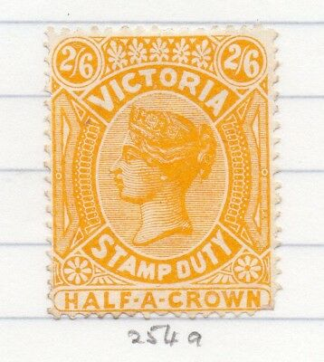 AUSTRALIA VICTORIA 1884-95 Stamp Duty Issue Fine Mint Hinged 2S.6d. 195244