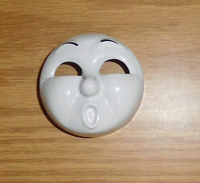 Lionel Large G Scale Train James Red Steam Engine Surpise Face Expression Mask