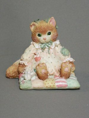 YOU'LL ALWAYS BE CLOSE TO MY HEART Calico Kittens Figurine New Never Displayed!