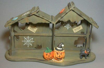 HALLOWEEN HOUSE DISPLAYER for Calico Kittens Figurines New Never Displayed!