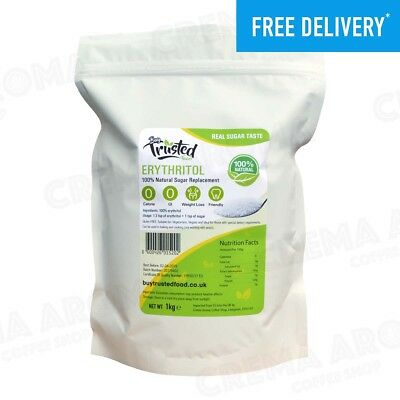 Erythritol 1kg - ZERO Calorie Natural Sugar Replacement - Was £9.90, Now £8.95!