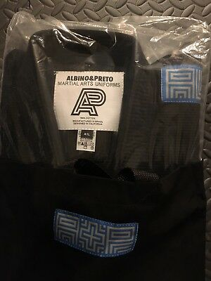 ALBINO and PRETO A&P Shoyoroll Batch Series 3 Brazil A1L Gi Black