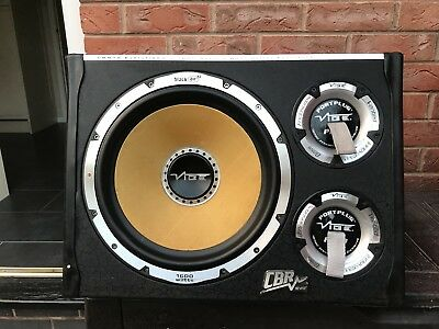 """Vibe Subwoofer 12""""cbr evo 1600w with built in amp"""