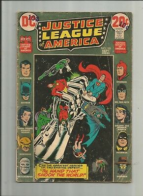 Justice League Of America #101 3.0-4.0 Free Comb Shipping