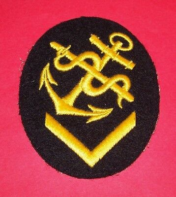 Original Ww2 German Kriegsmarine Petty Officer Patch, #1