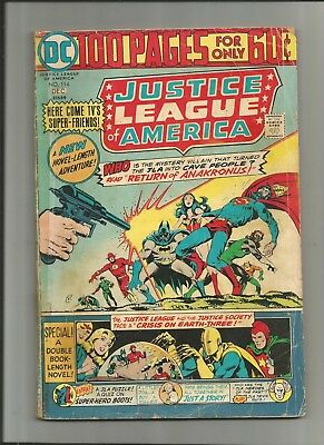 Justice League Of America #114 Dc 100 Page 2.5-3.5 Free Comb Shipping