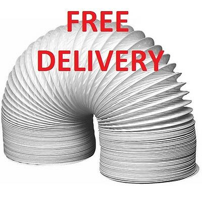 """Brand New Universal Tumble Dryer Vent Hose 4"""" x 1 M FREE DELIVERY"""