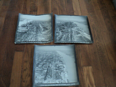 3 Low Altitude WWII Aerial Intelligence Survey Photographs 2