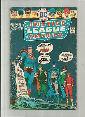 Justice League Of America #122 2.5-3.5 Free Comb Shipping