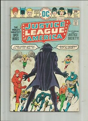 Justice League Of America #123 2.5-3.5 Free Comb Shipping