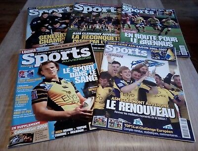 asm rugby revue ancienne