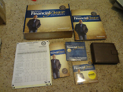 Dave Ramsey's Financial Peace University Membership Kit INCOMPLETE