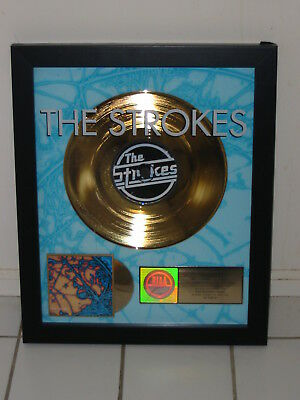"""The Strokes Riaa Gold Album Award For """"is This It"""" Hard To Explain Last Night"""