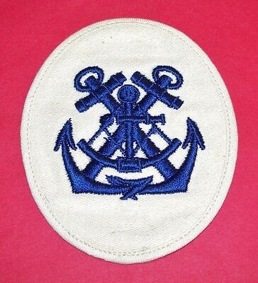 Original Ww2 German Kriegsmarine Petty Officer Patch, #12