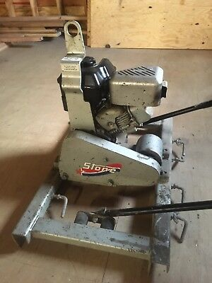 Stone Concrete Power Vibratory Screed VS400 Briggs & Stratton Intek 190 5.5 HP
