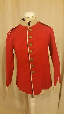 1904 welsh 4th territorial regiment red tunic
