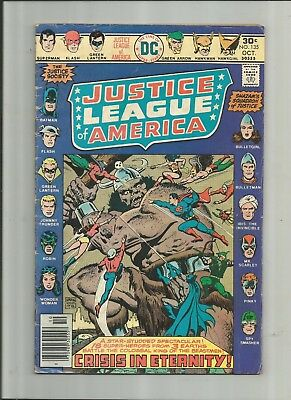 Justice League Of America #135 3.0-4.0 Free Comb Shipping