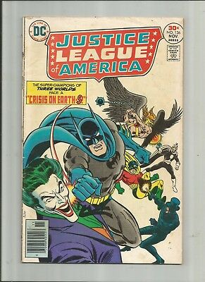 Justice League Of America #136 3.0-4.0 Free Comb Shipping