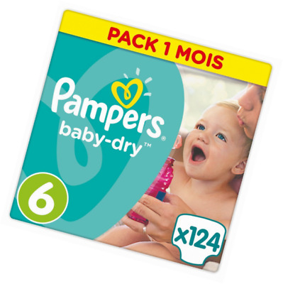 480 couches pampers baby dry maxi giga pack taille 4 7 - Couches pampers baby dry taille 3 ...