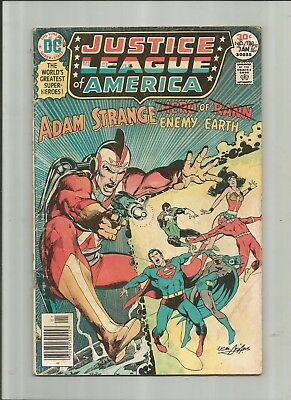 Justice League Of America #138 3.0-4.0 Free Comb Shipping
