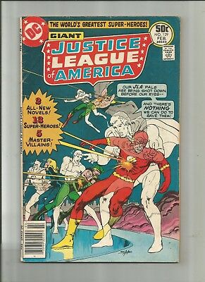 Justice League Of America #139 4.0-5.0 Free Comb Shipping