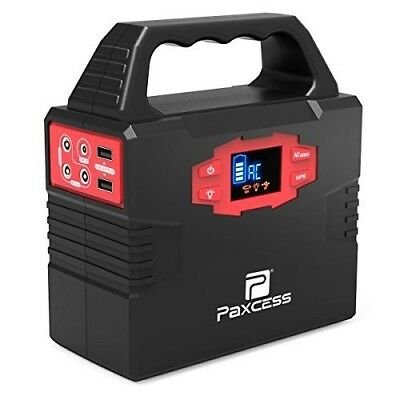 Portable Generator Power Inverter 40800mAh CPAP Battery Pack Solar Chargeable