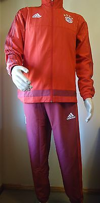Bayern Munich Official Pes Tracksuit Mens Medium New
