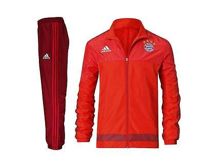 Bayern Munich Official Pres Tracksuit Mens Xl New