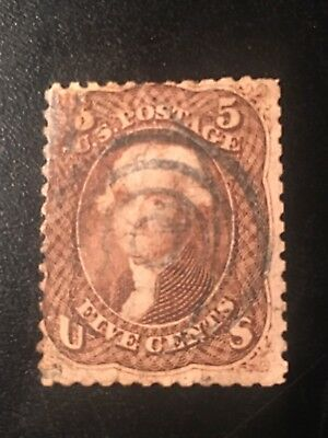 U Stamp Old  Used #76 CV$120