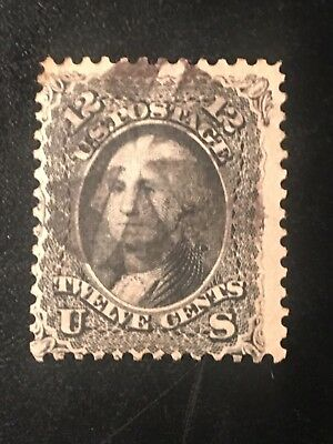 U S Stamp Old Used #69 CV$100