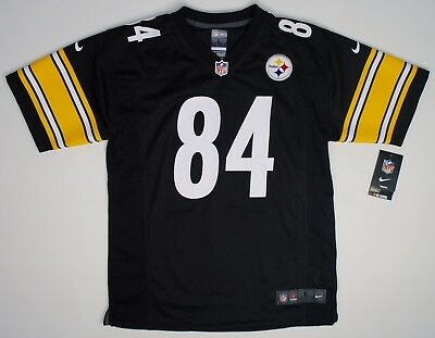Nike Pittsburgh Steelers #84 Antonio Brown Replica Game Jersey Youth (L) NWT $75