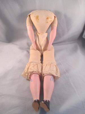 Antique Cloth Body with Bisque Arms & Legs