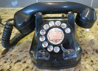Vintage Monophone Rotary Dial Telephone For Collectors