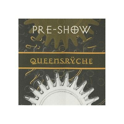 Queensryche authentic concert tour satin Backstage Pass preshow yellow