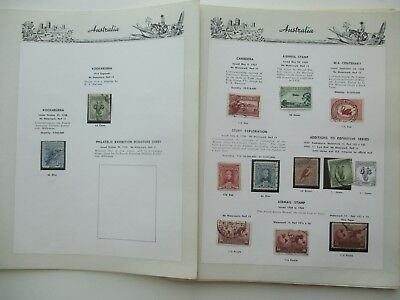 ESTATE: Australia Pre decimal collection noted Navs to £2, Arms to £2  (3229)