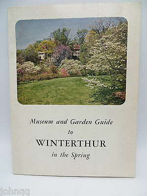 Vintage 1960 Winterthur Museum and Garden Guide, Delaware