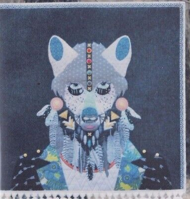 PATTERN - Wild Spirit, Prince of the Woods - applique PATTERN - Sew Quirky