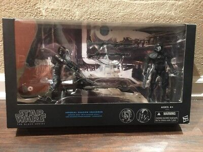 """Hasbro The Black Series Imperial Shadow Squadron Action Figure 6"""" Exclusive New"""
