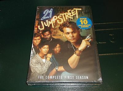 21 Jump Street: The Complete First Season (DVD, 2010, 4-Disc Set) NEW SEALED