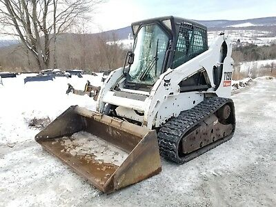 2011 Bobcat T190 Cab Heat A/c Selectable Controls Roller Suspension Ready 2 Work
